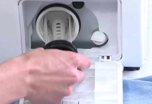 wasmachine maakt programma niet af